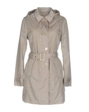 Легкое пальто JAN MAYEN. Цвет: светло-серый