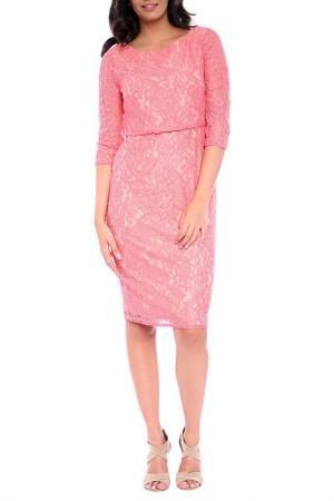 Платье Emma Monti. Цвет: coral