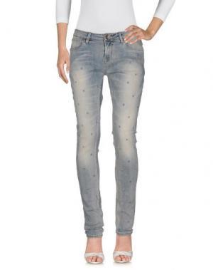 Джинсовые брюки GARCIA JEANS. Цвет: синий