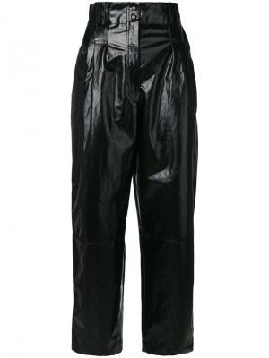 Укороченные брюки с завышенной талией Philosophy Di Lorenzo Serafini. Цвет: чёрный