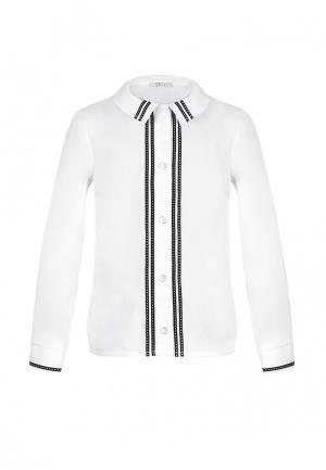 Рубашка AnyKids. Цвет: белый