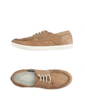 Обувь на шнурках GUARDIANI DRIVE. Цвет: бежевый