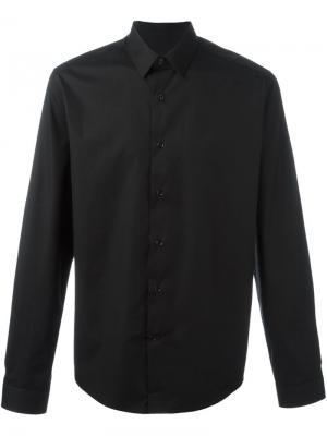 Классическая рубашка Ami Alexandre Mattiussi. Цвет: чёрный
