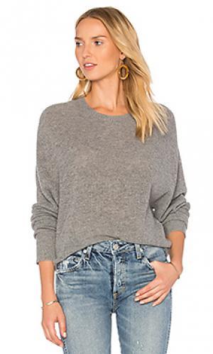 Свободный свитер shaker Autumn Cashmere. Цвет: серый