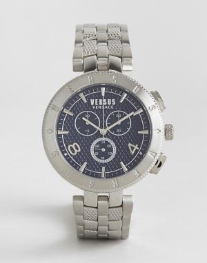 Versus Versace Серебристые часы с браслетом и логотипом S7613. Цвет: серебряный