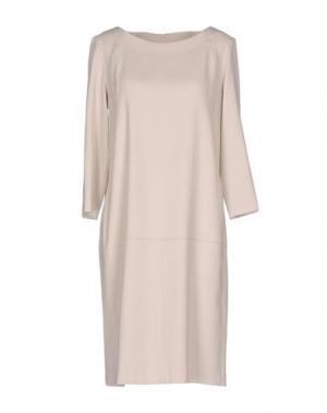 Короткое платье ROSSO35. Цвет: бежевый