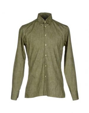Pубашка HARRISON. Цвет: зеленый