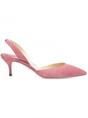 Туфли Rhea Paul Andrew. Цвет: розовый и фиолетовый