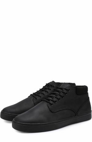Кожаные ботинки Minnesota на шнуровке Affex. Цвет: черный
