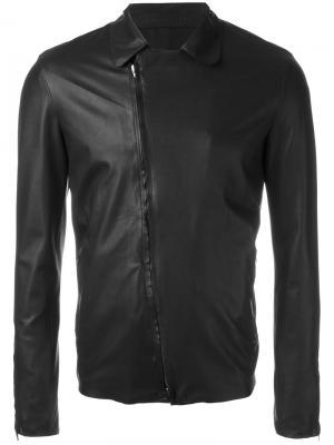 Байкерская куртка Salvatore Santoro. Цвет: чёрный