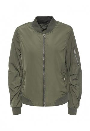 Куртка B.Style. Цвет: зеленый
