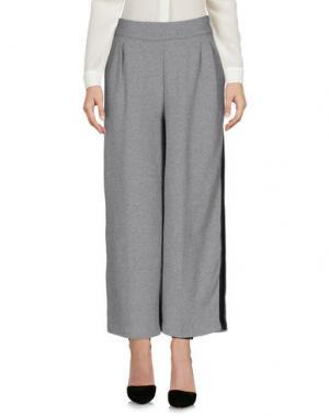 Повседневные брюки JIJIL. Цвет: светло-серый