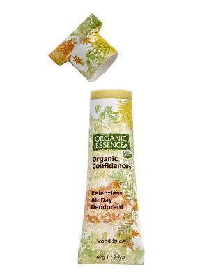 Органический дезодорант Древесно-пряный Organic Essence. Цвет: кремовый