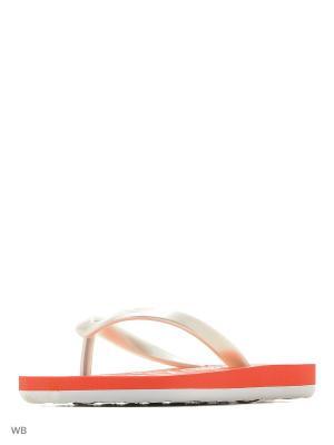 Шлепанцы ROXY. Цвет: оранжевый