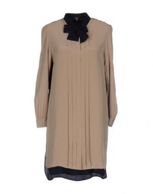 Короткое платье RAOUL. Цвет: бежевый