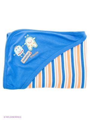 Одеяло Hudson Baby. Цвет: синий, желтый