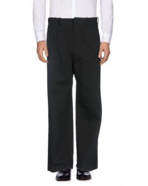 Повседневные брюки UMIT BENAN. Цвет: черный