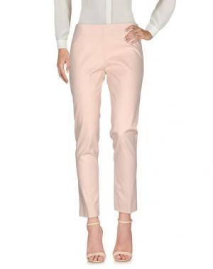 Повседневные брюки CRISTINA ROCCA. Цвет: светло-розовый