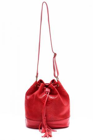 Сумка LUISA VANNINI. Цвет: красный