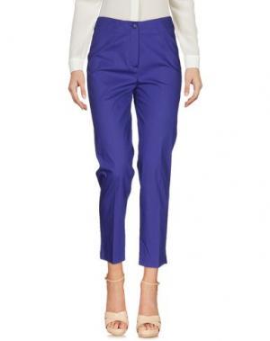 Повседневные брюки METRADAMO. Цвет: фиолетовый