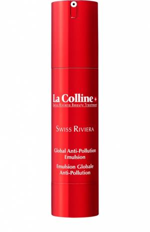 Глобальная детокс эмульсия для лица Global Anti Pollution Emulsion La Colline. Цвет: бесцветный