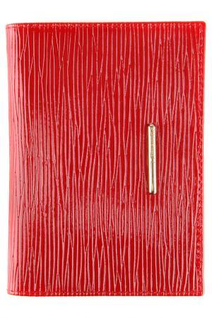 Бумажник водителя Dimanche. Цвет: красный