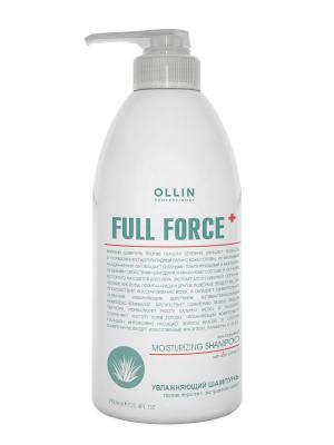 Увлажняющий шампунь против перхоти с экстрактом алоэ 750 мл Ollin Professional. Цвет: прозрачный
