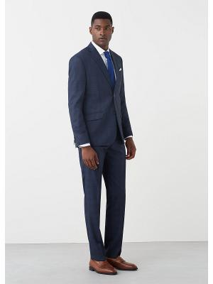 Пиджак MANGO MAN. Цвет: темно-синий