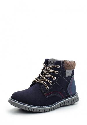 Ботинки Obba. Цвет: синий