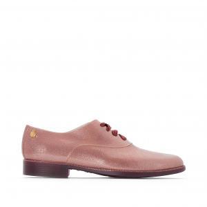 Ботинки-дерби непромокаемые Sparkle LEMON JELLY. Цвет: розовый фиалковый