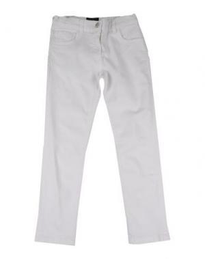 Джинсовые брюки DOLCE & GABBANA. Цвет: белый