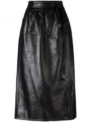 Юбка со сборками на поясе Marc Jacobs. Цвет: чёрный