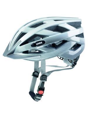 Шлемы Uvex. Цвет: белый, серебристый