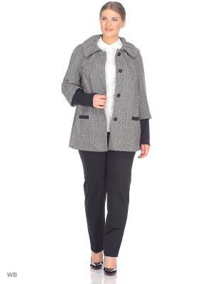 Пальто BERKLINE. Цвет: серый