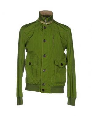 Куртка MABRUN. Цвет: светло-зеленый