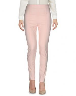 Повседневные брюки LA KORE. Цвет: лососево-розовый