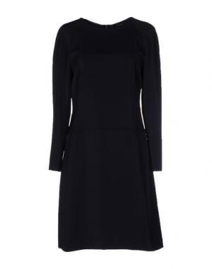 Короткое платье MALAICA. Цвет: темно-синий