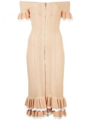 Платье Just Because Alice Mccall. Цвет: телесный