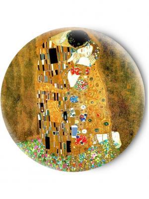 Зеркальце Tina Bolotina. Цвет: светло-коричневый, оранжевый