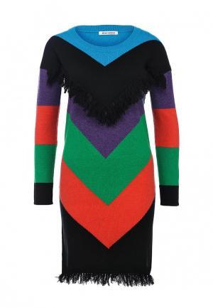 Платье BeaYukMui. Цвет: разноцветный