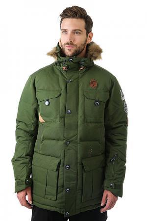 Куртка  Leno 2 Khaki Picture Organic. Цвет: зеленый