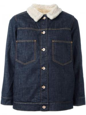 Куртка London Bellerose. Цвет: синий