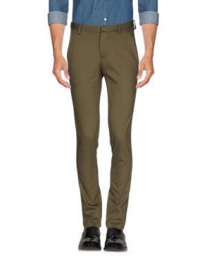 Повседневные брюки AMERICAN VINTAGE. Цвет: зеленый-милитари