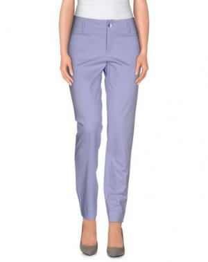 Повседневные брюки XANDRES. Цвет: сиреневый