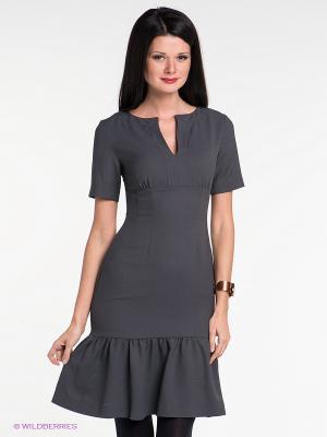 Платье IMAGO. Цвет: темно-серый