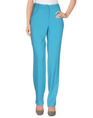 Повседневные брюки ANDREA INCONTRI. Цвет: бирюзовый