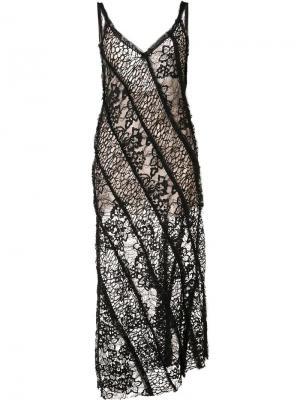 Lace camisole dress Jason Wu. Цвет: чёрный