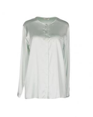 Pубашка BRUNO MANETTI. Цвет: светло-зеленый