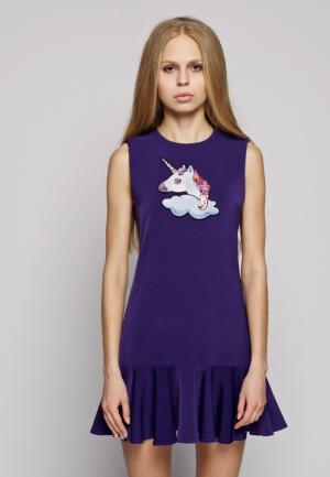 Платье iSwag. Цвет: фиолетовый