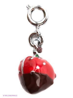 Подвеска Клубника в Шоколаде CHI-CHI. Цвет: красный